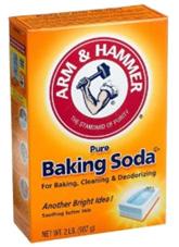 gorgelen met baking soda
